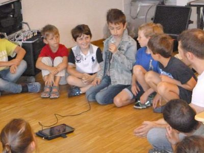 Co-teaching in der 2. Klasse – Digitale Medien