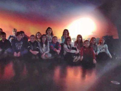 3. und 4. Klasse besuchen die ESO Supernova