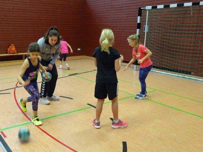 Grundschulaktionstag Handball