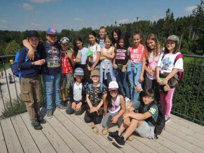 Ausflug in den Wildpark Poing 4. Klasse