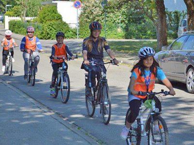 Radfahren im Realverkehr