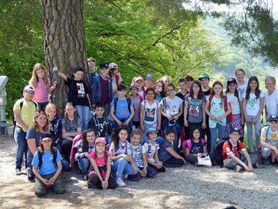 Schullandheimaufenthalt der 3. und 4. Klasse in Kelheim
