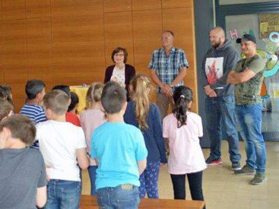"""5. Schulversammlung mit der Preisverleihung für das """"Känguru der Mathematik"""""""