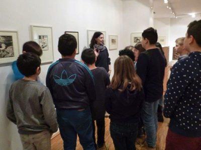 Besuch der Gemäldegalerie mit anschließendem Workshop