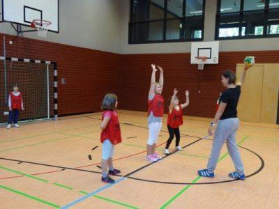 Handball Grundschulaktionstag
