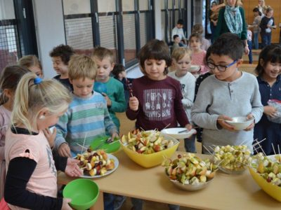 Gemeinsam Essen vorbereiten und genießen