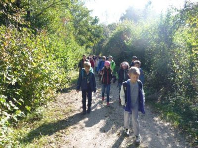 Wandertag zum Garchinger See