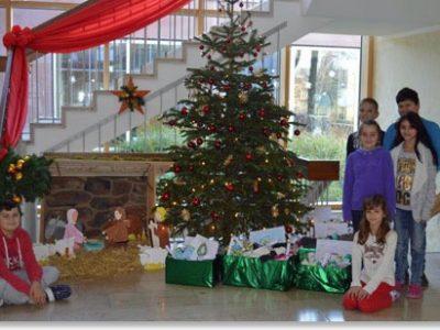 Spendenaktion zugunsten des Auffanglagers für Flüchtlinge in Dornach