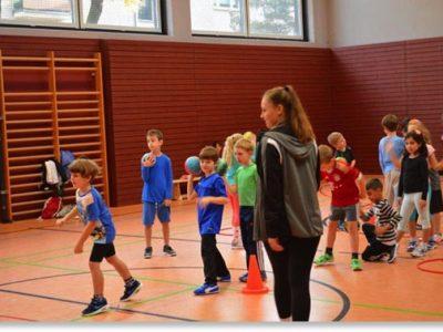 Handballeinführung des TSV Ismaning