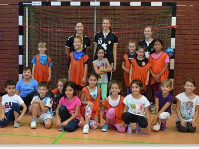 Handball-Grundschulaktionstag in der 2. Klasse