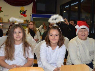 Weihnachtsfeier der Schulfamilie