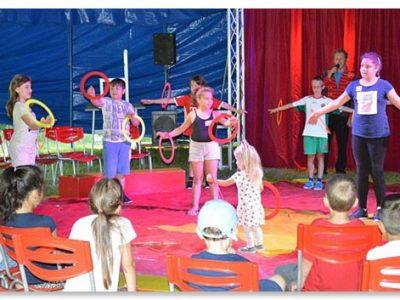 Zirkus Gundello – ein Zirkusprojekt der Grundschule Hochbrück mit dem Circus Bambino