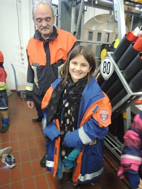 Feuerwehr Hochbrück 3. Klasse Besuch