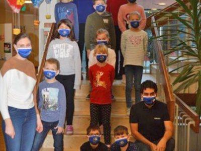 Masken vom Förderverein