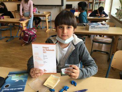 Känguru der Mathematik, Preisverleihung 3. und 4. Klasse
