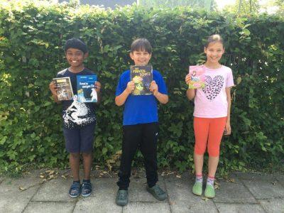 Prämien für die besten Leser 4. Klasse