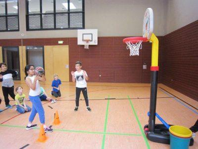 Ballolympiade 4. Klasse Teil II